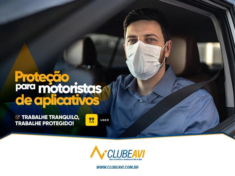 Proteção para motoristas de aplicativos